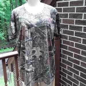 Mossy Oak Tops - Mossy Oak Break-Up T Shirt